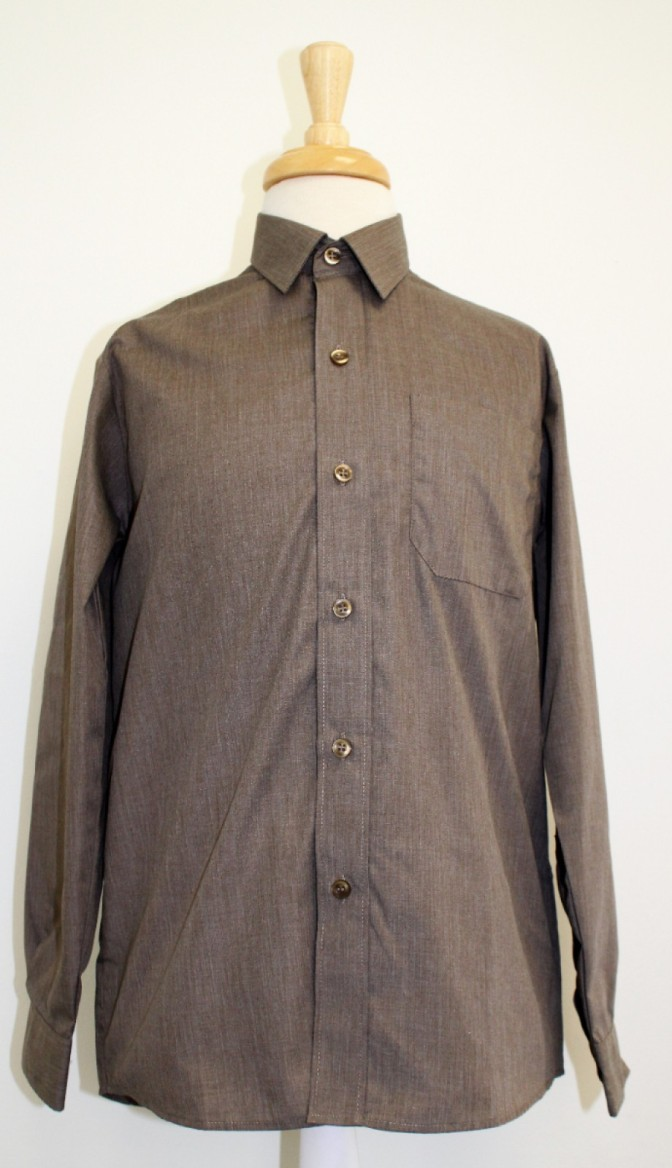 GREY LONG SLEEVE SHIRTS 12.5
