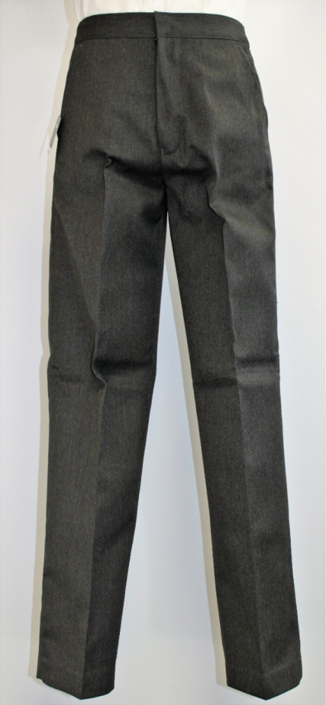 GREY TROUSERS 27W 27L AGE 10/11