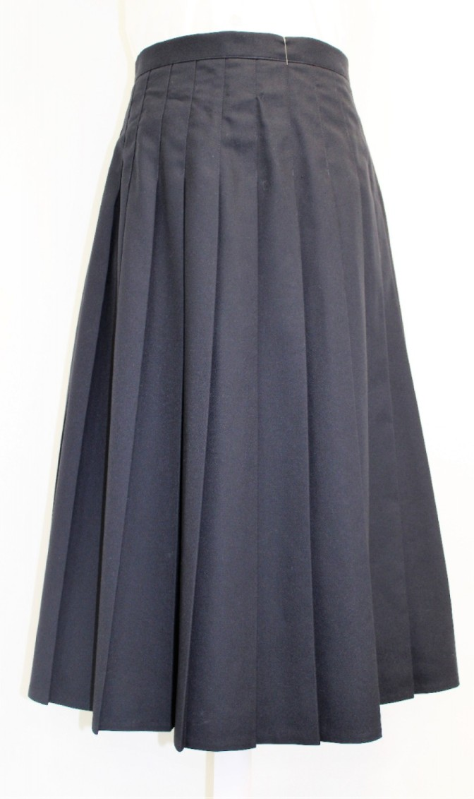 KNIFE PLEAT SKIRT 26W 34L