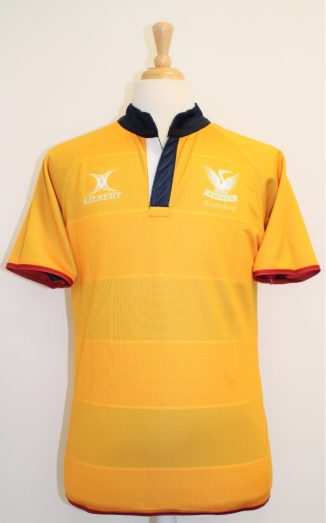 RUGBY SHIRT REVERSIBLE AMBER / STRIPE 5-6