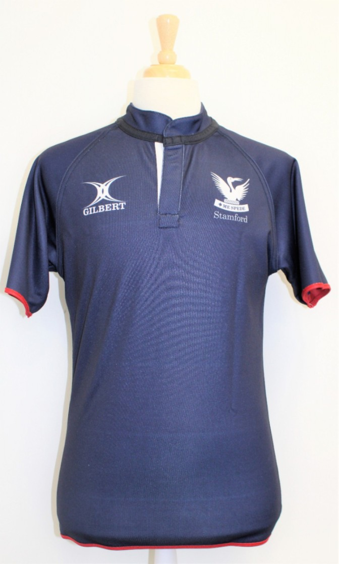 RUGBY SHIRT REVERSIBLE NAVY / STRIPE 11-12