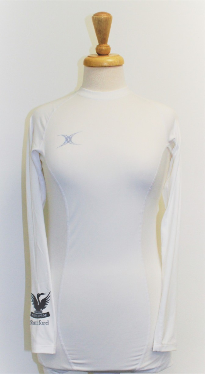 SES BASELAYER WHITE AGE 11-12